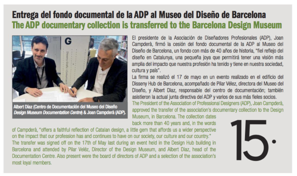 Noticia sobre ADP a News Packaging